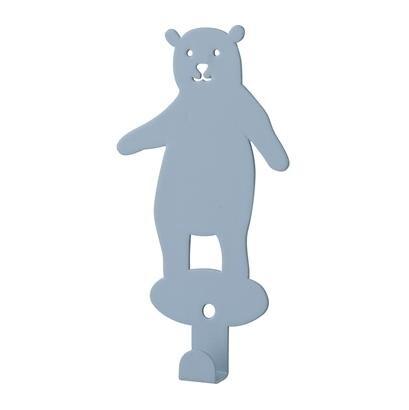 Bloomingville metal knage bjørn blå