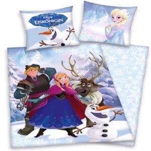 Disney Frost Sengetøj 100 Procent Bomuld