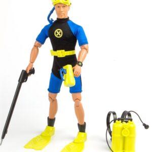 Dykker Action Figur med tilbehør 30,5cm