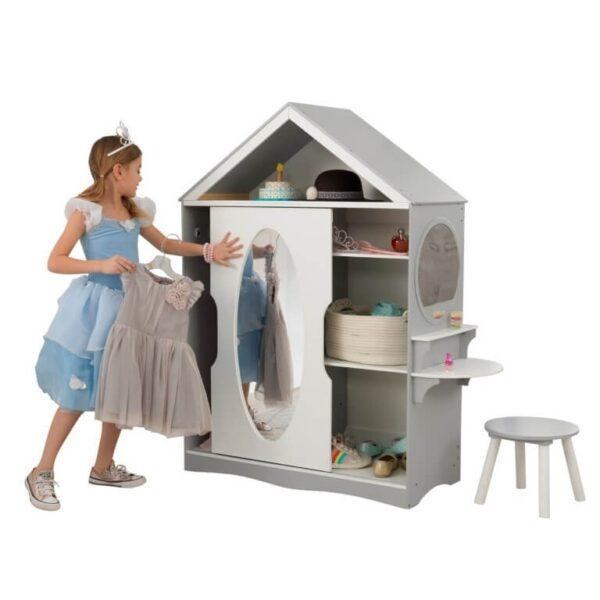 Kidkraft Dress Up Garderobeskab m/spejl