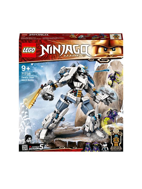 LEGO Ninjago 71738 Zanes kæmperobotkamp