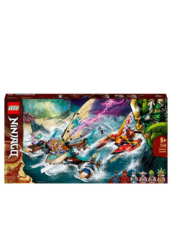 LEGO Ninjago 71748 Katamarankamp til havs