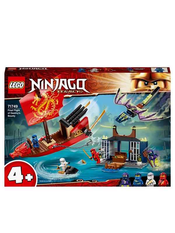 LEGO Ninjago 71749 Skæbnebådens sidste rejse