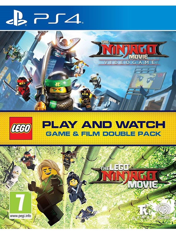 LEGO Ninjago Game & Film Double Pack - Sony PlayStation 4 - Action
