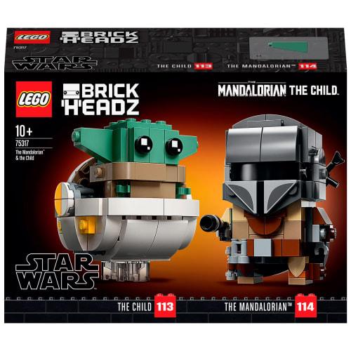LEGO Star Wars BrickHeadz - Mandalorianeren og Barnet