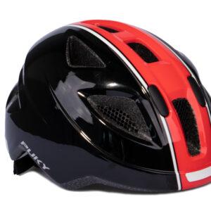Puky PH 8 - Cykelhjelm - Str. 51-56 cm - Sort/rød