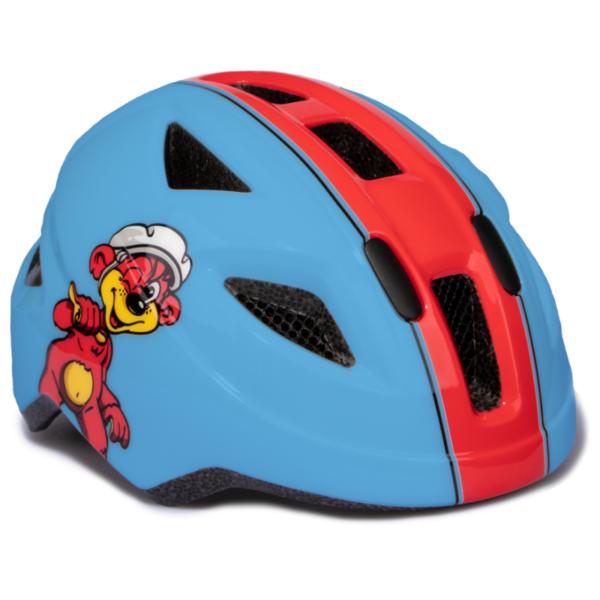 Puky cykelhjelm str. 45 - 51 cm, blå-rød