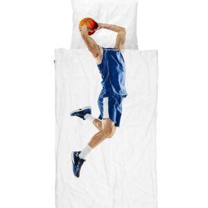 SNURK Sengetøj - Voksen - Basketball Star Blue