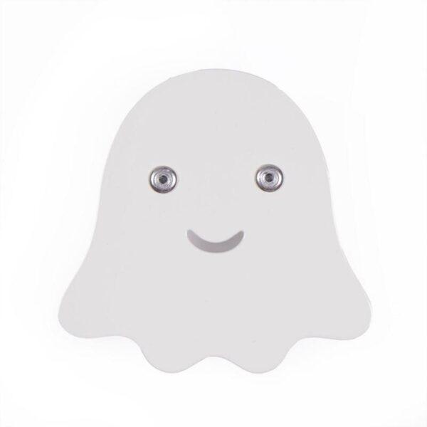 Spøgelse knage, hvid