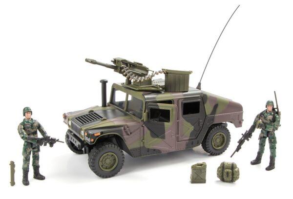 World Peacekeepers 1:18 Militær Humvee / Hummer Model B